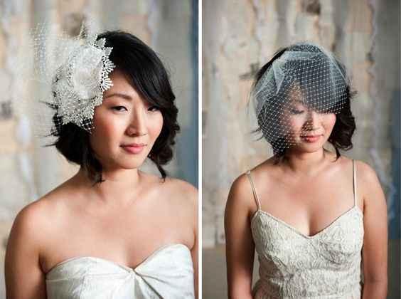 Noivas de cabelo curto - 9