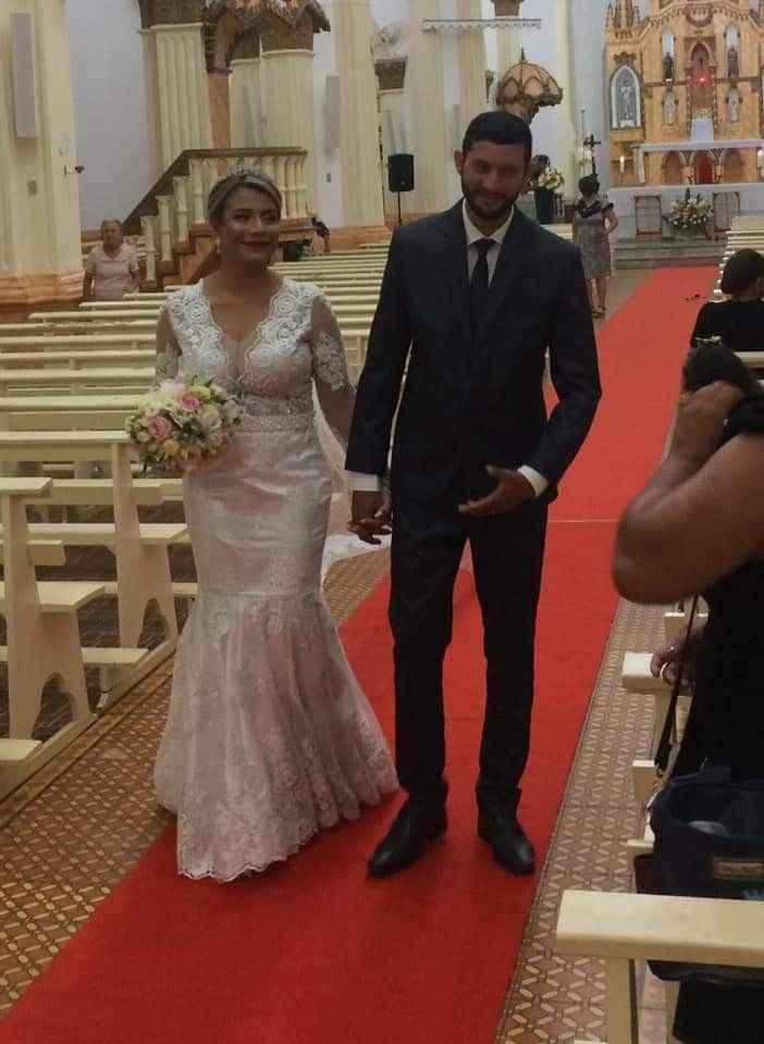 Enfim casados!!!!! - 2