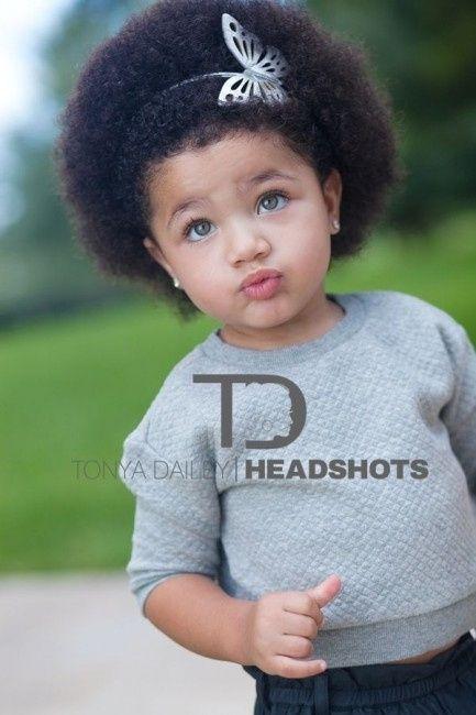 Penteado Afro Para As Daminhas