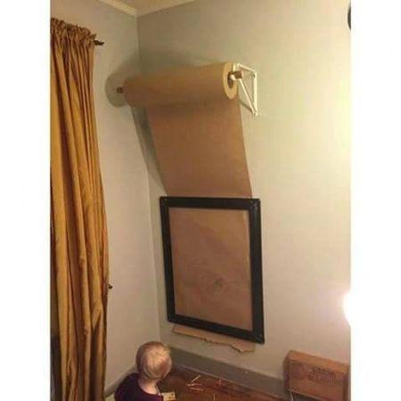 Para los hijos que pintan paredes