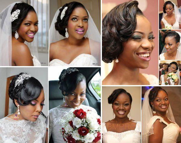 Penteados E Maquiagem Para Noivas Negras