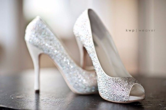 Coral Wedding Shoes For Bride