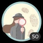 Nerd (50). Você adora estar bem informada e lê todos os artigos para pegar muitas ideias e conselhos. Já comentou 50 artigos, assim que essa medalha, você merece!