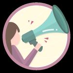 Extrovertida. Você acaba de dar um grande passo na comunidade, decidiu entrar em contato pela primeira vez com alguém do fórum. Por ser tão extrovertida, ganhou essa medalha.