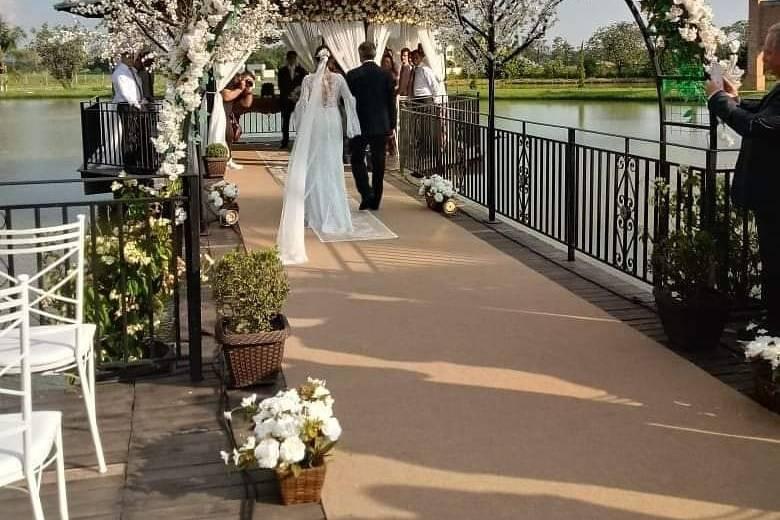 Casamento no final da tarde