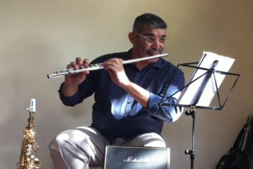 Saxofonista Fábio de Souza