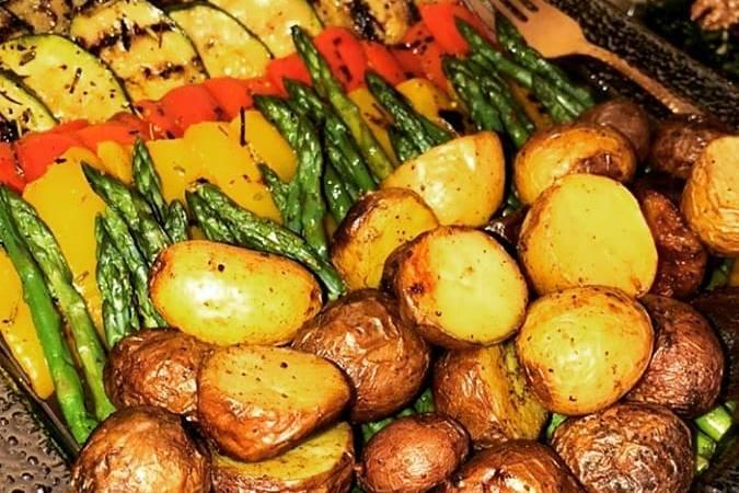 Legumes gratinado