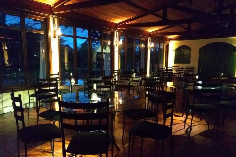 Iluminação cênica com mesas