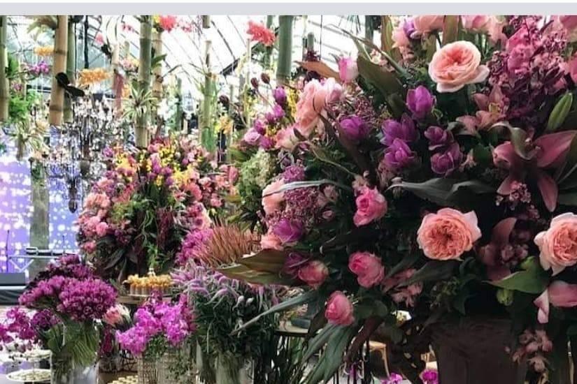 Detalhe das flores