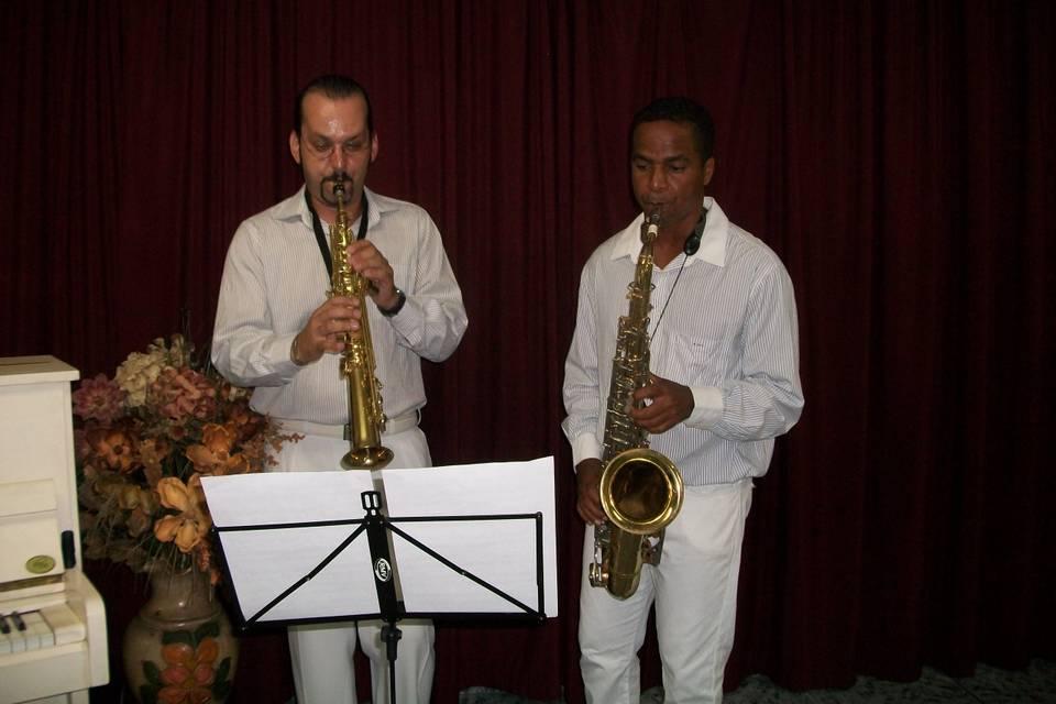 Dois saxofonistas