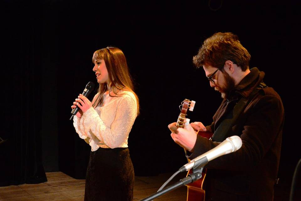 Juliana Pires e Matheus Lopes