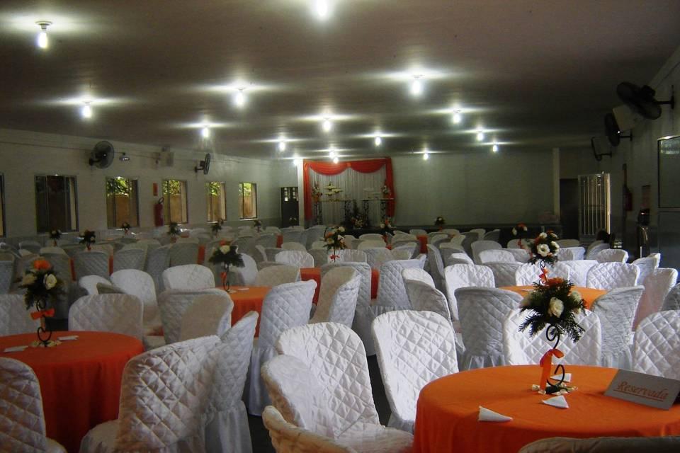 Imagens do salão de festa