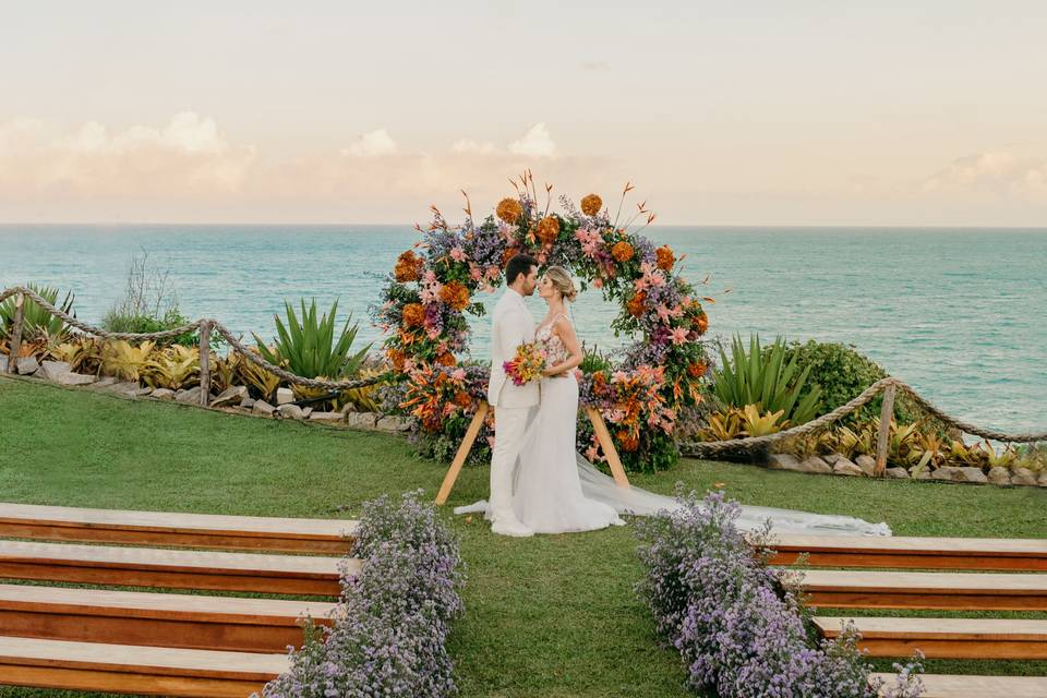 Casar de frente ao mar