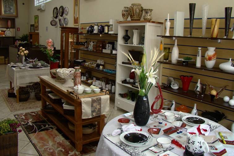 Foto interna da loja