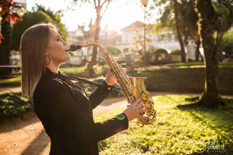 Saxofone para eventos