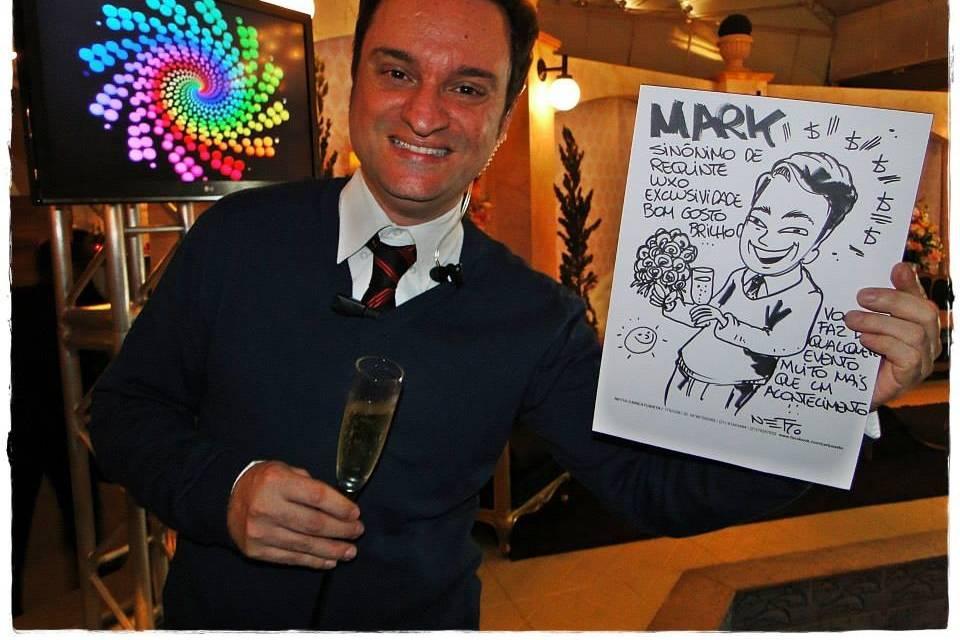 Caricaturista Netto