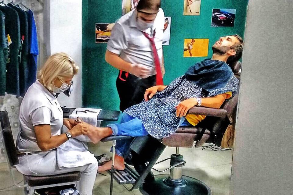 Moustache Barber Shop