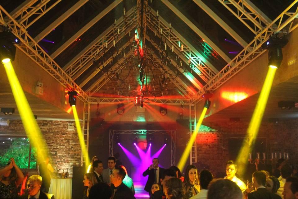 Iluminação pista de dança