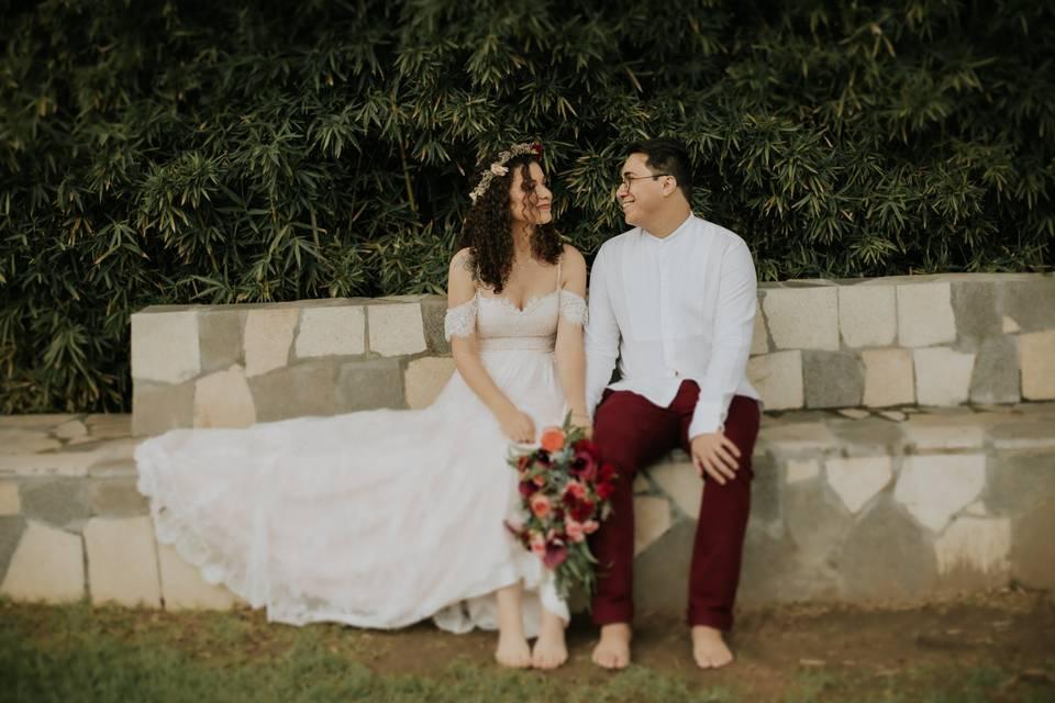 Noiva Boho - Belina Ateliê