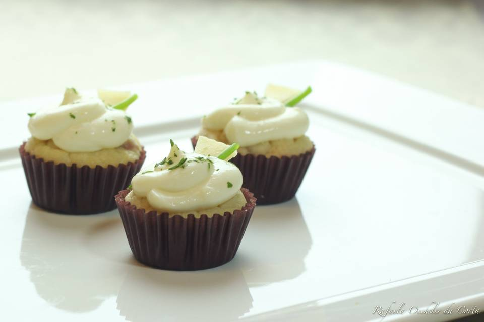 Finger cupcake Parma e gruyère