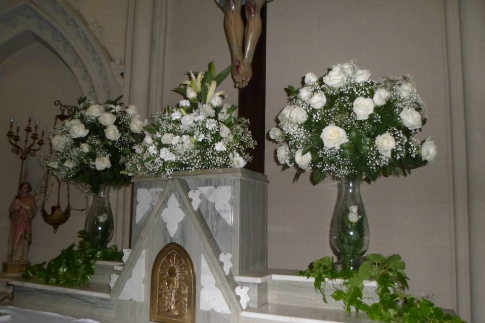 Decoração altar 02