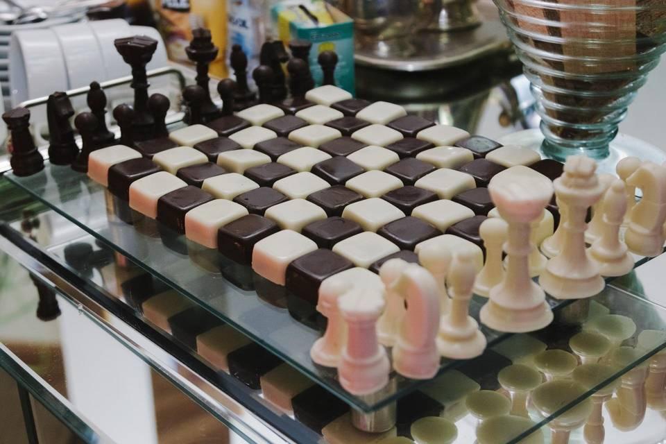 Xadrez de Chocolate