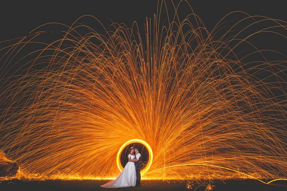 Foto Artística com o casal