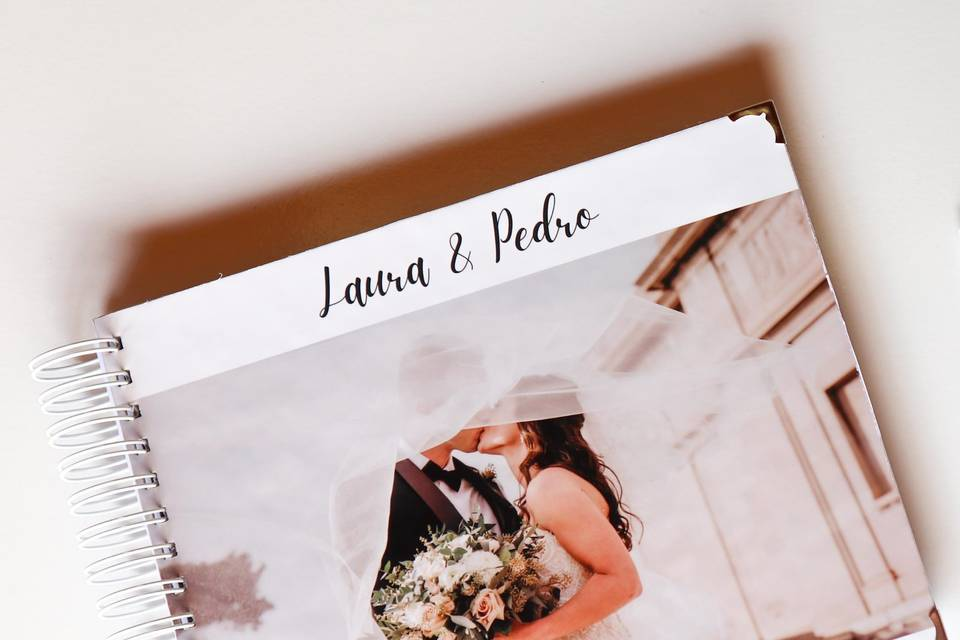 Álbum de Casamento Scrapbook