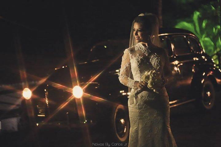 Noiva Lara.Foto Carlos Jr.
