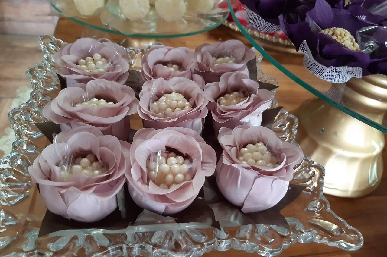 Arte em Flor Forminhas Decoradas