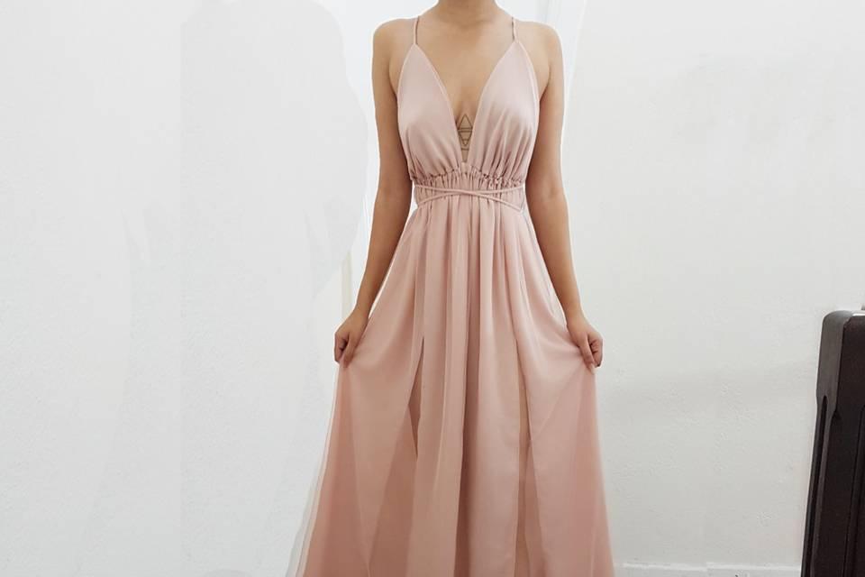Um vestido de princesa!