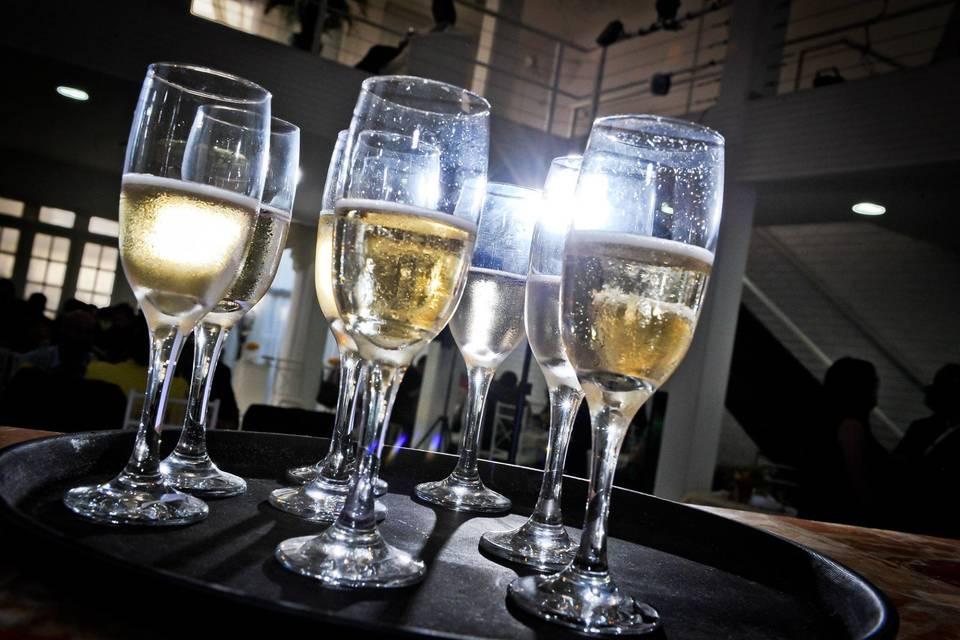 Champagne para brinde