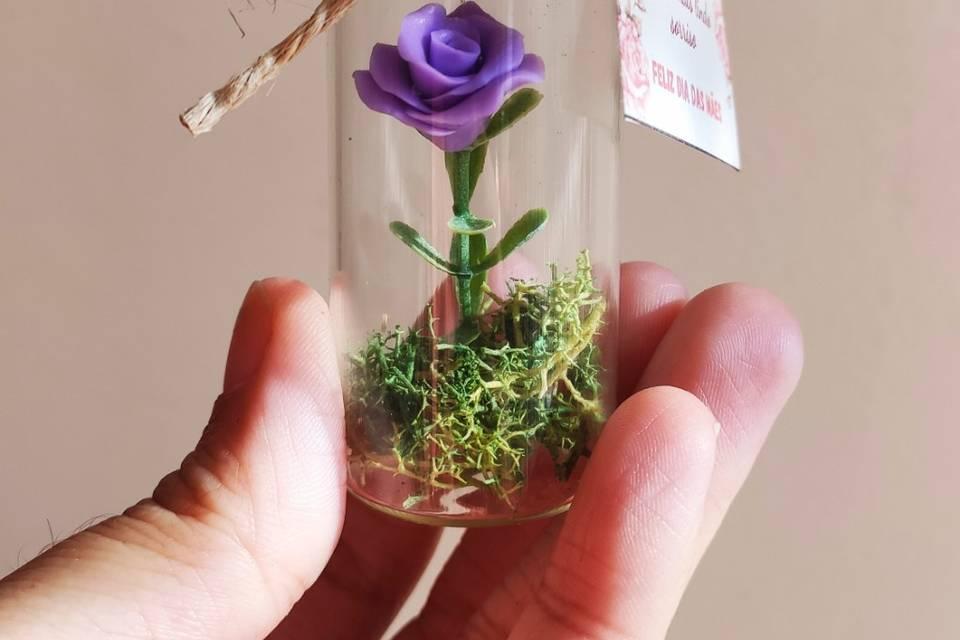 Mini amor eterno lilás