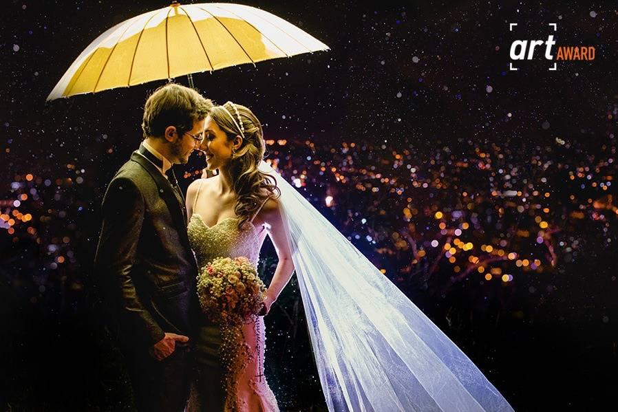 Foto premiada - retrato noivos