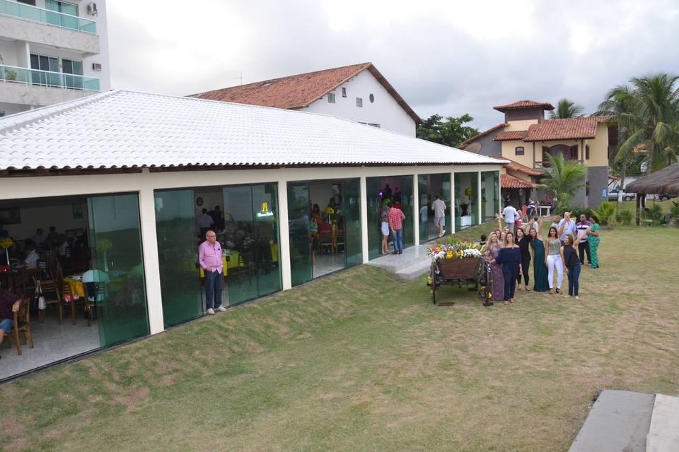 Fachada do Salão