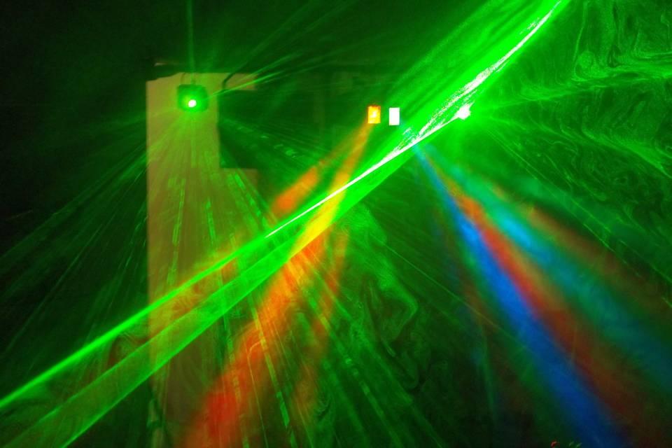 Iluminação de baile