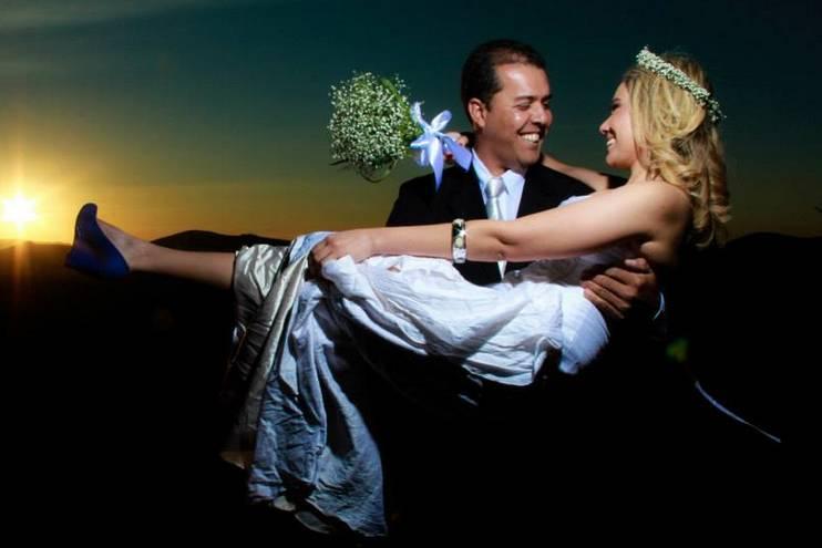 O casal feliz