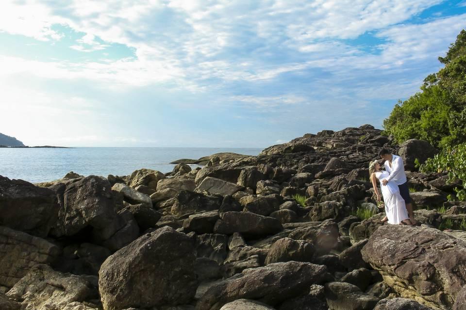 Fotografo ensaio na praia