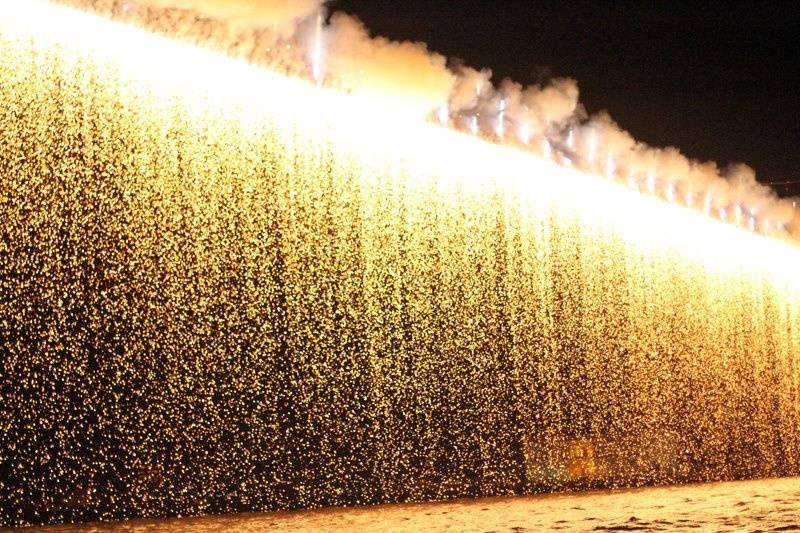Fogos de artifício - cascata