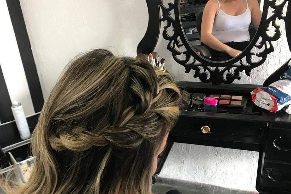 Morganah Hair Style