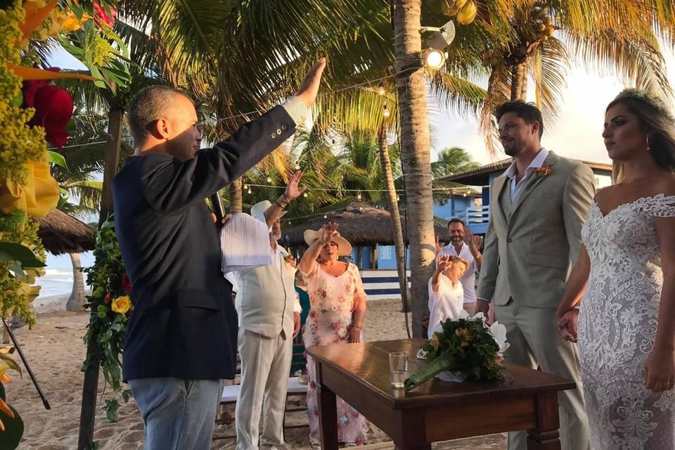 Benção aos noivos