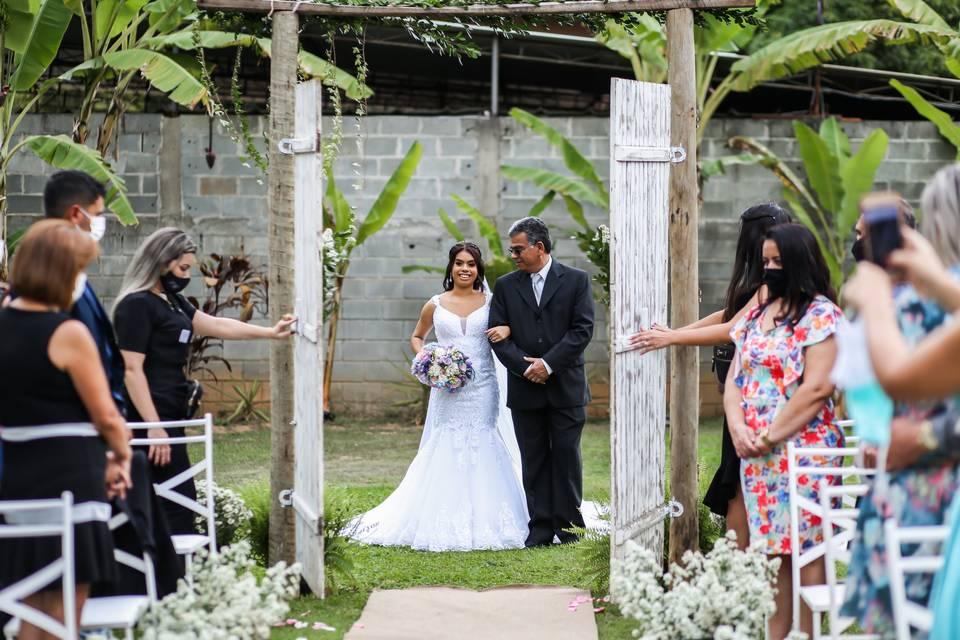 Leila e Douglas Wedding Day