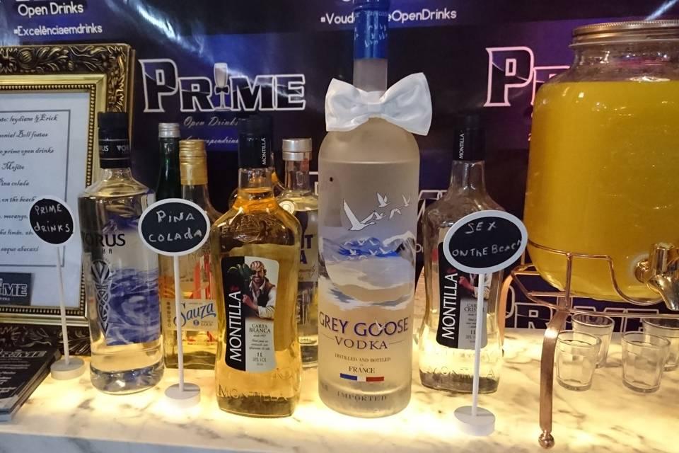 Prime Open Drinks