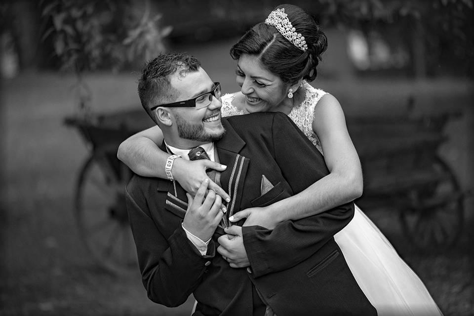 Casam Álex e Andressa