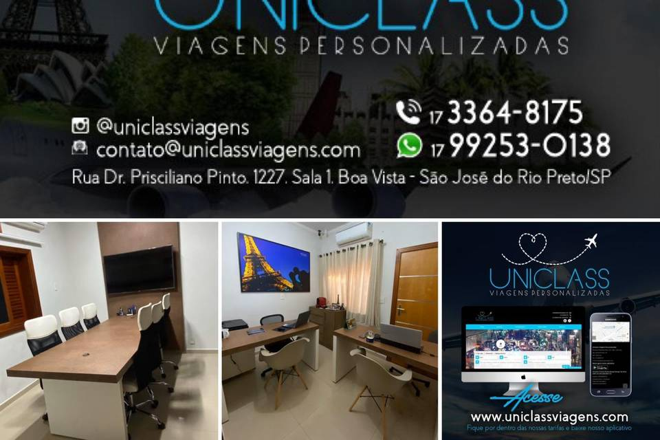 Uniclass Viagens Personalizada
