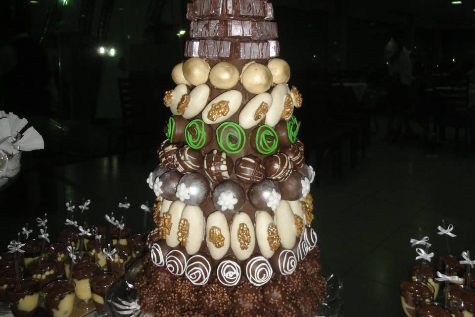 Torre de doces