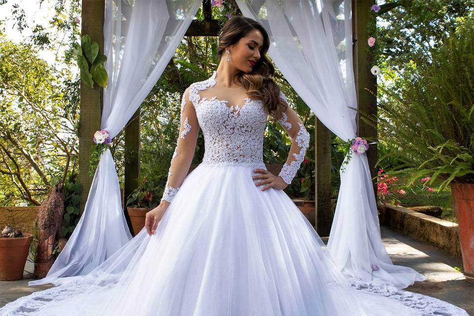 Vestido de Noiva Lucyndha