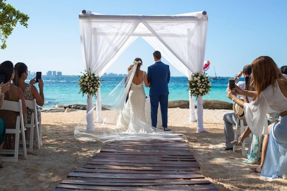 Isadora e Marcel | Cancún 2019