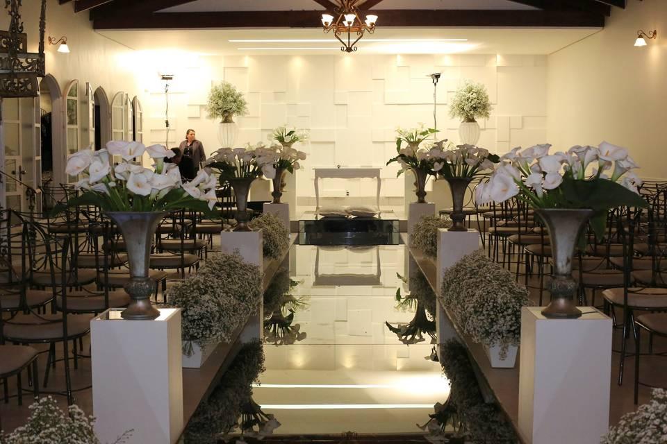 Salão interno de Cerimônia