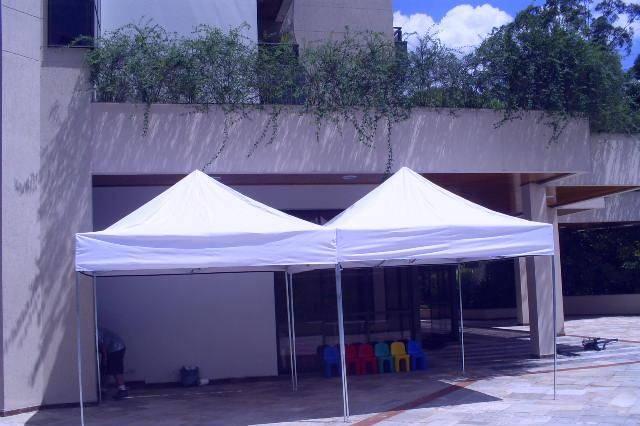 Tenda 3x3 pantográfica